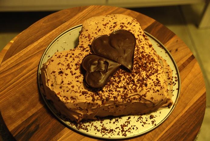 Torta za zaljubljene (u čokoladu)
