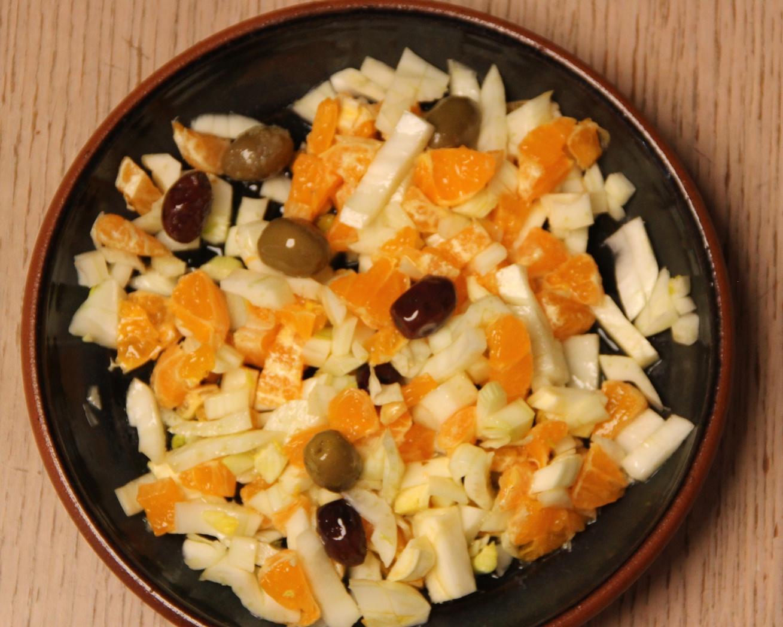 Salata sa komoračem i pomorandžama